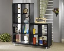 Contemporary Asymmetrical Cube Bookcase