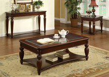 Windsor Glass Dark Cherry Coffee Table