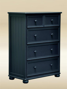 Blue Drawer Chest With 3-Large Drawers