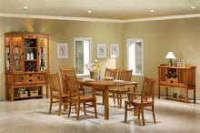 Marbrisa Mission Dining Table with Chairs