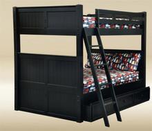 Dillon Black Full Bunk Bed