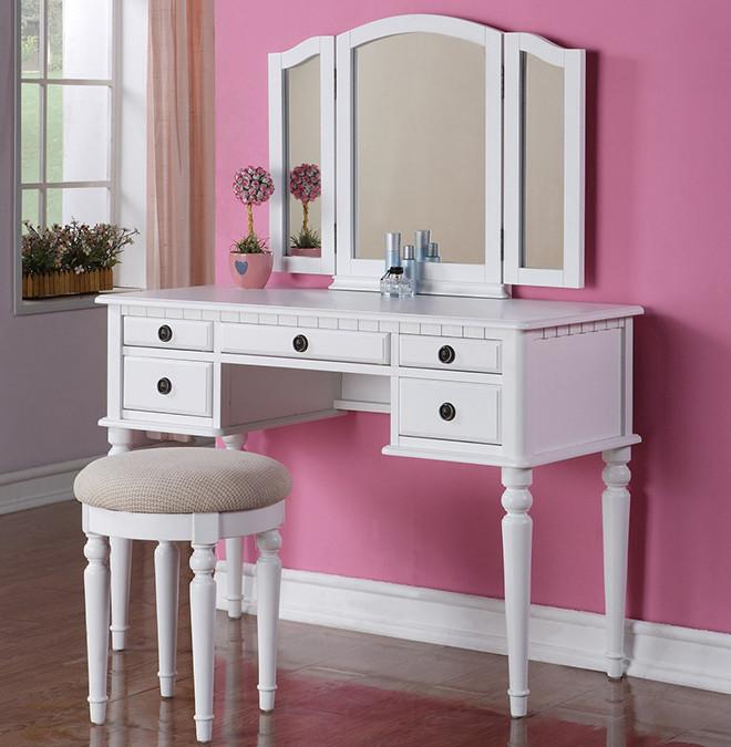 Christine Makeup Dressing Table Set Vanity Sets