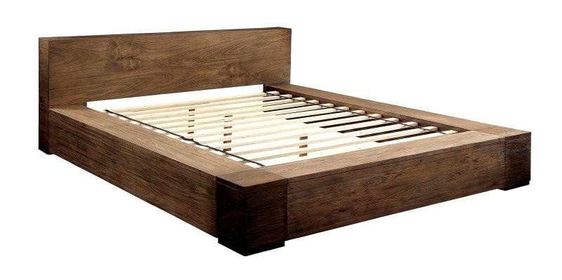 janeiro modern low profile platform bed. Black Bedroom Furniture Sets. Home Design Ideas