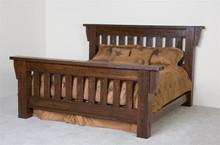 Barnwood Timberwood Queen Bed