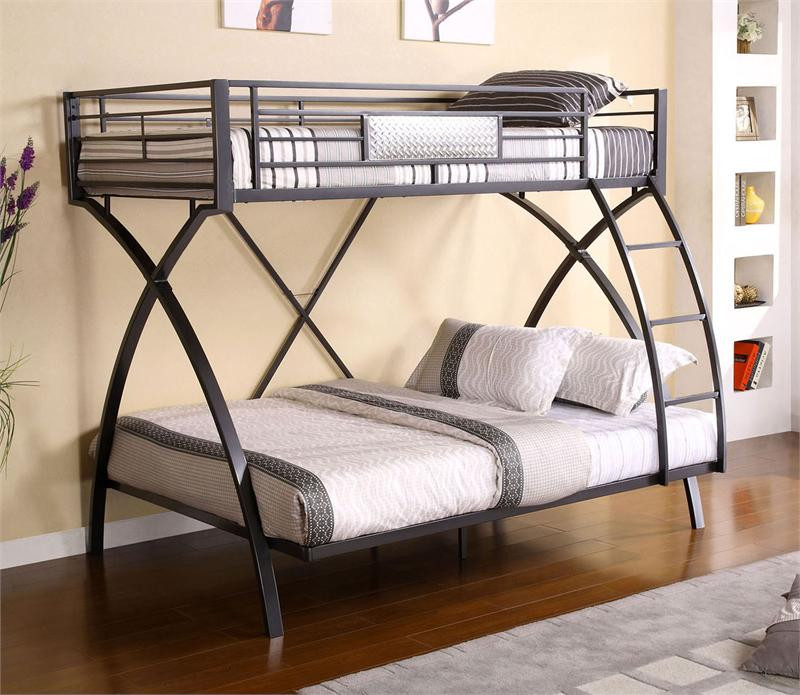 Apollo Ii Twin Over Full Metal Bunk Bed For Sale