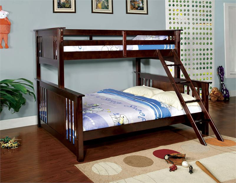 Spring Creek Extra Long Twin Over Queen Bunk Bed