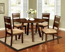 Dwight 5 PC Dark Oak Table Set