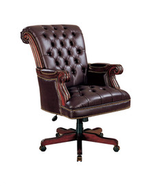 Traditional Leather Executive Chair