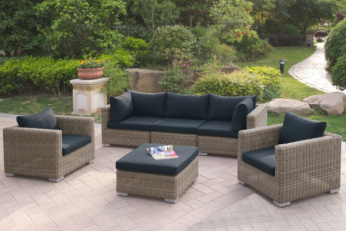 Delicieux Lizkona 414 Outdoor Patio 6 Pcs Sofa Set By Poundex | Outdoor Patio Set