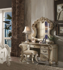 Vendome Gold Patina Ornate Dressing Table Set