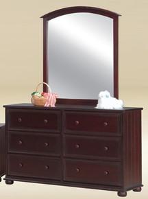6-Drawer Dresser In Walnut