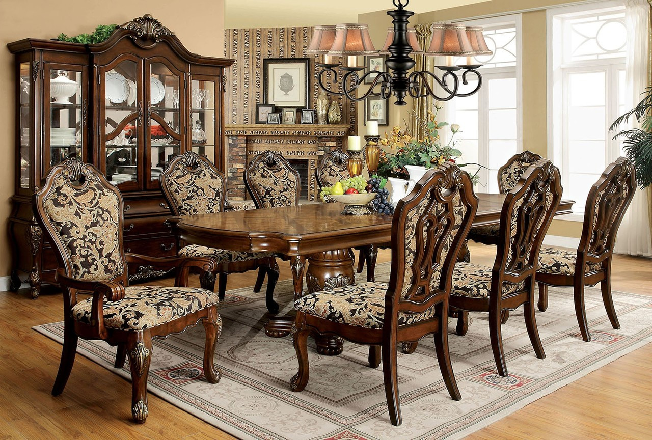Vicente Formal Dining Table Set For 10