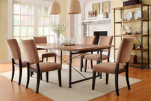 Mason Burnished Rustic Dining Table | Rustic Dining Table