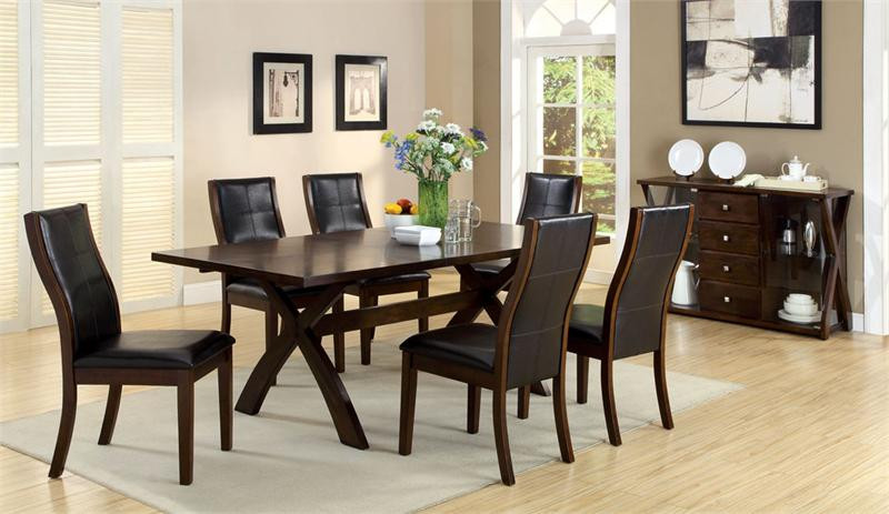 Toronto Modern Dark Oak Dining Table Oak Dining Table
