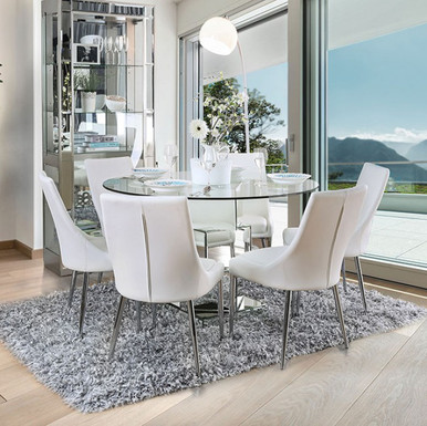 New Dining Table Tempered Glass