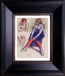 Degas - Dancer In Red Stockings