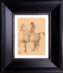De Toulouse-Lautrec - Cavalier 1880