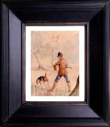 De Toulouse Lautrec Chasseur Et Chien 1884