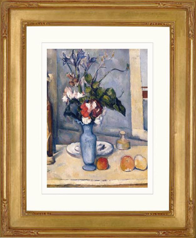 Paul Cezanne Le Vase Bleu 1899 Fine Art Efurniturehouse