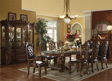 Lancaster Cherry Formal Pedestal Dining Set