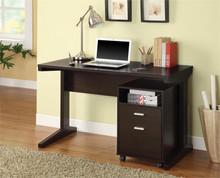 "47"" Modern Rich Cocoa Office Desk"
