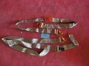 Beechcraft Cessna Piper Gold Plate Aircraft Seat Belt w/ Harness, H3602-2A-360