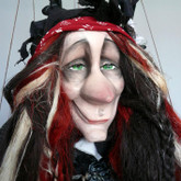 Handmade Marionette - Witch Justyna