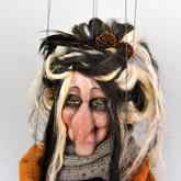 Handmade Marionette - Witch Xantipa