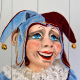 Handmade Marionette - The Laughing Jester