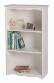 Little Colorado Traditional Bookcase - White