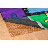 Learning Carpets Under Carpet Mat - Oval