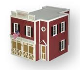 Firehouse Unfinished Dollhouse Kit