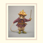 R John Wright Dolls Fairy Tale Mice - Tom Thumb