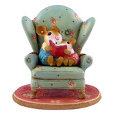 Wee Forest Folk Miniature - Sharing a Story (M-512)