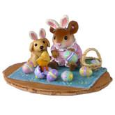 Wee Forest Folk Miniature Limited Edition - Peep, Peep Surprise! (M-353b)