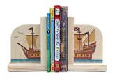Maple Landmark Pirate Ship Bookends (70219)