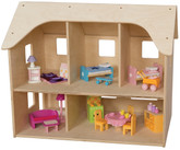 Wooden Doll House Made in the USA