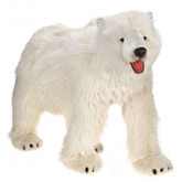 Hansa Polar Bear, Life Size Walking 53''L (3639)