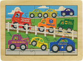Maple Landmark Busy Highway Jigsaw Puzzle, 20 Pieces