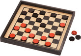 Checkers, Premium Board, Crown Set by Maple Landmark