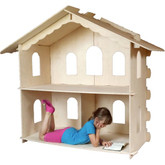 American Girl Grand Lodge Wooden Dollhouse