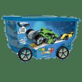 Clics Racing Nitro Rollerbox Construction Set, 400 Pieces (CB414)
