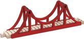 Wooden Train Track Suspension Bridge Set By Maple Landmark (10575)