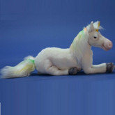 "Hansa Floppy Unicorn, 17"" Long (4881)"