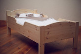 Little Colorado Traditional Toddler Bed - Natural Finish