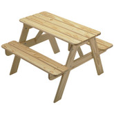 Little Colorado Child's Picnic Table - Unfinished