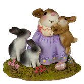 Wee Forest Folk Miniature - Snuggle Bunnies (M-502a)