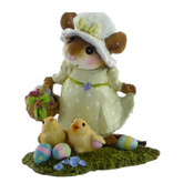 Wee Forest Folk Miniature - My Little Easter Basket (M-346b)