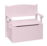 Little Colorado Bench Toy Box - Soft Pink