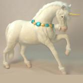 """Hansa Unicorn, Studio Size 59''L x 59""""H (4932)"""